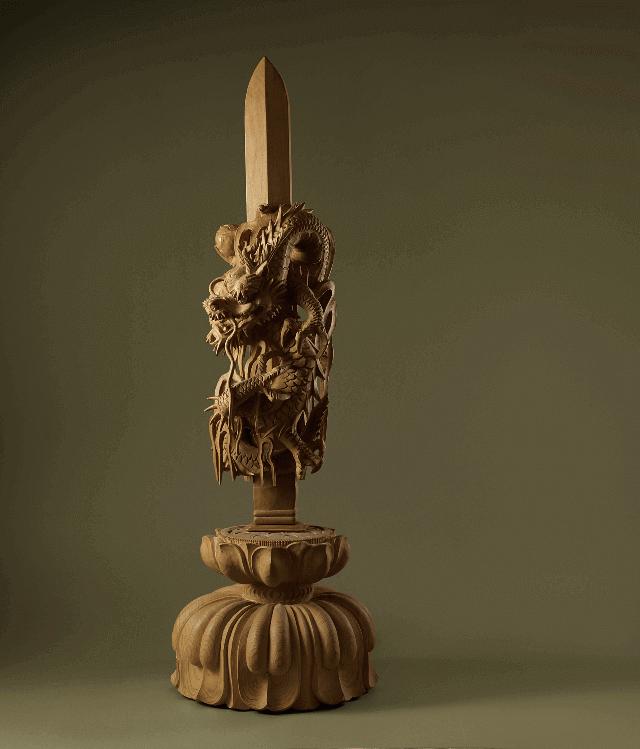 江戸木彫刻